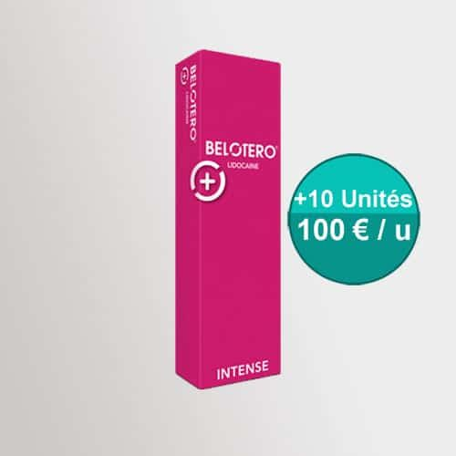 belotero intense lidocaine
